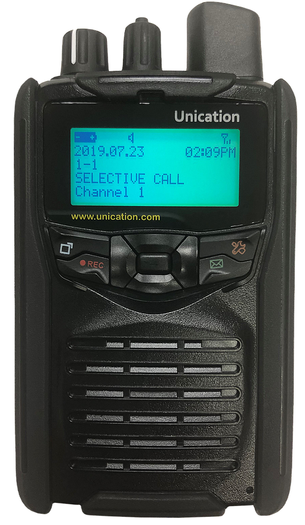 Unication G1 Voice Pager - Black