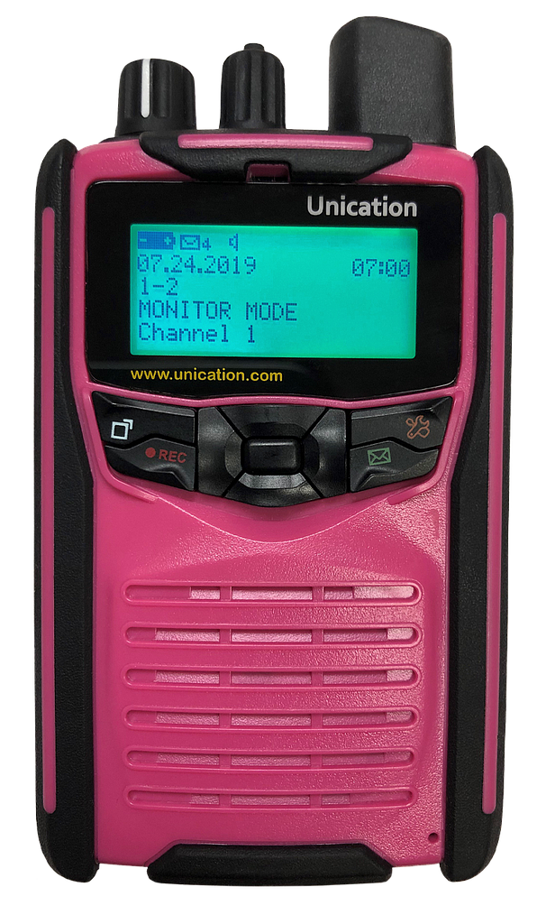 Unication G1 Voice Pager - Pink