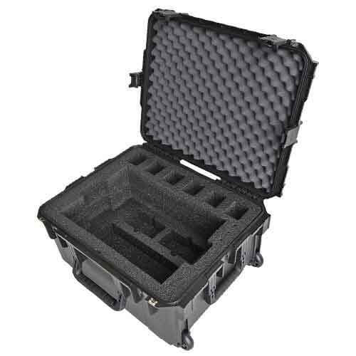 XTS 5000 Radio 6-Pack Charger Deployment Case, Wheels