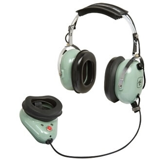 David Clark H9910 Wireless Over-the-Head, Headset & Mic Shield