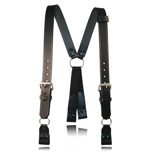 Boston Leather 9177 Firefighter's Suspenders with Loop