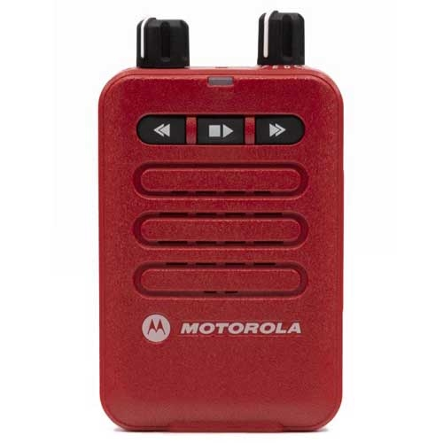 Motorola Minitor VI VHF A03JAC8JA2AN-RD 143-174 MHz One Channel - Red