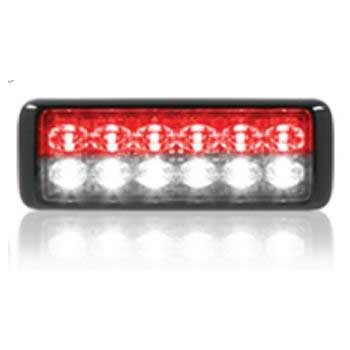 Federal Signal MPS1200U-RW 12-LED MicroPulse Ultra - Red/White