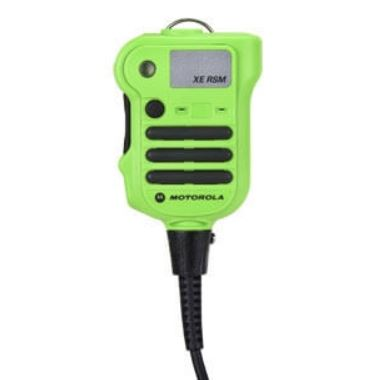 Motorola NNTN8575A APX XE Extreme Remote Speaker Mic - Green