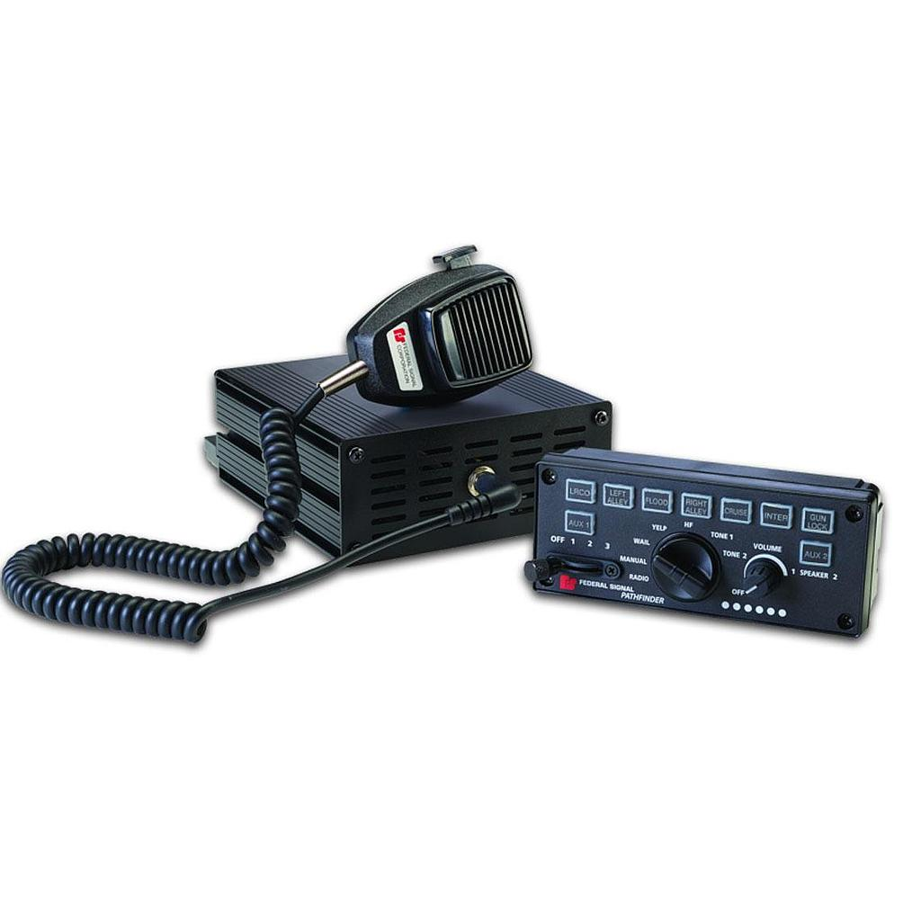 Federal Signal PF200R Pathfinder Siren/Light Controller, Remote