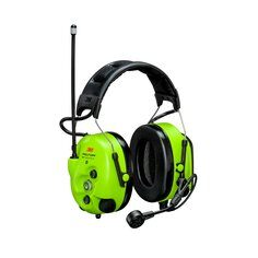 3M Peltor MT73H7A4D10NA GB WS LiteCom Pro III UHF Digital 2-Way Radio Headset - Yellow
