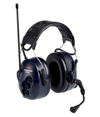 3M Peltor MT53H7A4602-NA LiteCom FRS 2-Way Radio Headset - Headband