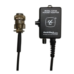 [18667G-42] David Clark 18667G-42 C3019A Mobile Radio Universal Adapter