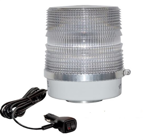 [200SHDLM] Star 200SHDLM Halo LED Beacon, Dual Color, Clear Lens, Magnet Mount