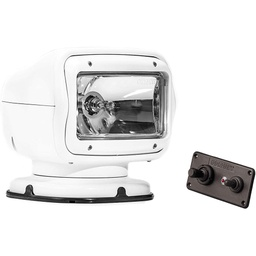 [2020GT] Golight 2020GT White Halogen Searchlight Permanent Mount, Dash Remote