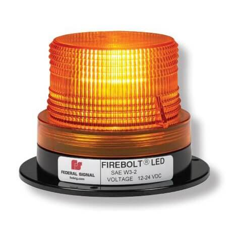 [220260-02] Federal Signal 220260-02 Firebolt Magnetic LED Beacon - Amber