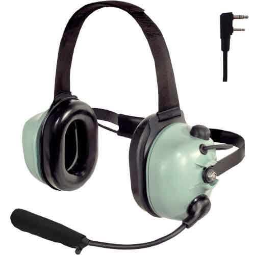 [40416G-16] David Clark 40416G-16 H6240-24 Radio-Direct Headset - Kenwood 2-Pin