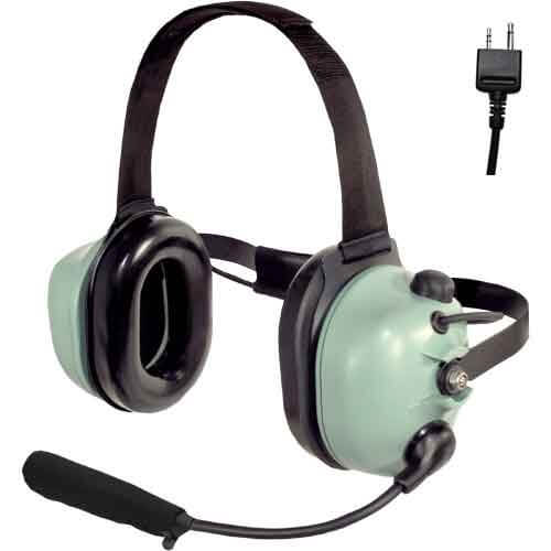 [40416G-17] David Clark H6240-55 Radio-Direct Headset - Icom A6, A24