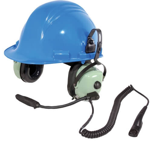 [40416G-62] David Clark 40416G-62 H6780-51 Radio-Direct Intrinsically-safe Hardhat Headset - APX, TRBO