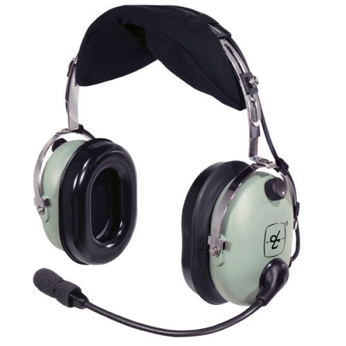 [40642G-01] David Clark 40642G-01 H-PC Over-the-Head Headset - Dual 3.5mm
