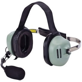 [40991G-02] David Clark H9941 Wireless Neckband, Single Ear (Slotted Dome) Headset