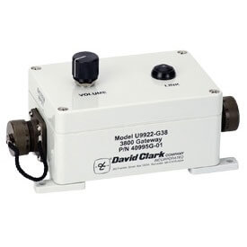 [40995G-01] David Clark U9922-G38 Wireless Gateway with Whip Antenna
