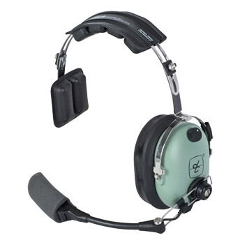 [41030G-01] David Clark H9990 Wireless Over-the-Head, Single Ear Headset