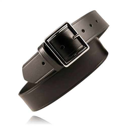 [6505] Boston Leather 6505 1 3/4 inch Black Garrison Belt