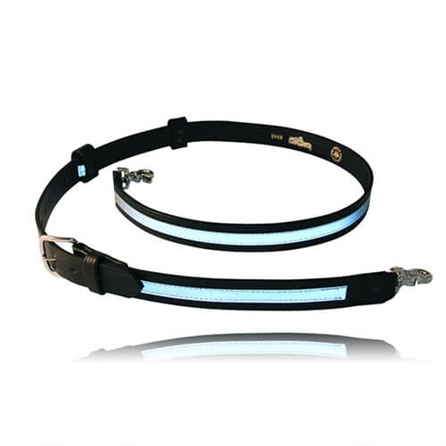[6543R-1] Boston Leather 6543R-1 Firefighter Radio Strap - Reflective