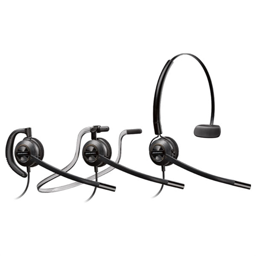 [88828-01] Poly Plantronics 88828-01 EncorePro 540 3-in-1 Convertible Headset