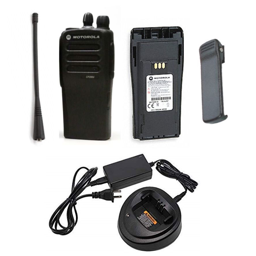 [AAH01QDC9JA2_N] Motorola AAH01QDC9JA2AN CP200d Analog/Digital UHF 16 Channels