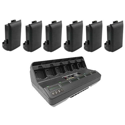 [APX4486MUC] Motorola IMPRES 2 APX Multi-Unit Charger Battery Promo