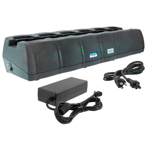 [EC6M-MT10A] Power Products EC6M Endura 6 Unit Charger - Motorola BPR40