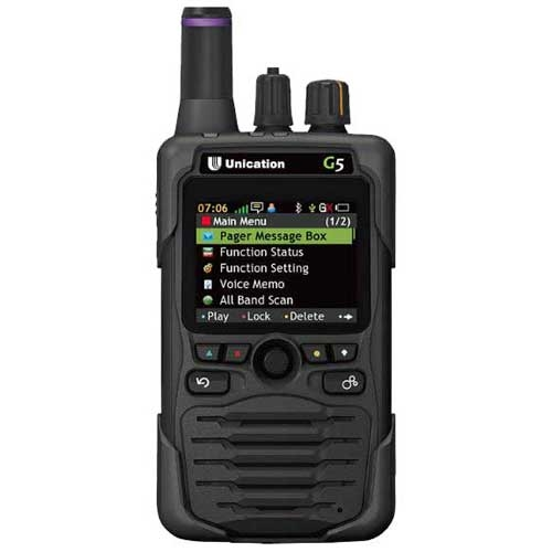 [G5B64BF-SXUDEN] Unication G5 G5B64BF-SXUDEN UHF 450-520 MHz, 700/800 MHz P25 Pager