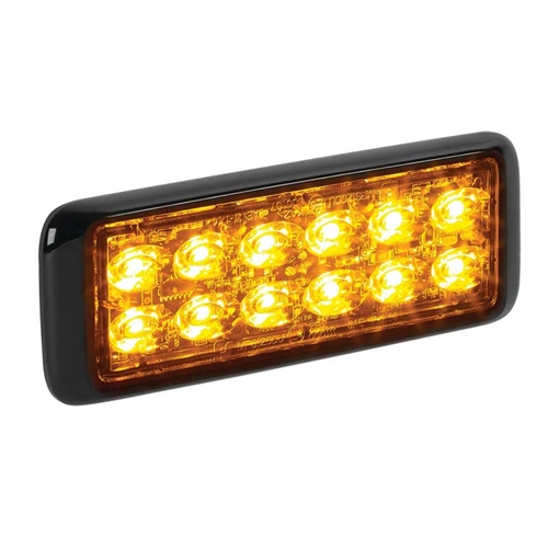 [MPS1220U-WA] Federal Signal MPS1220U-WA 24-LED MicroPulse 12 Ultra - White/Amber
