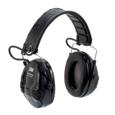 [MT16H210F-SV] 3M Peltor MT16H210F-SV Black Tactical Sport Headset