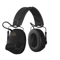 [MT20H682FB-09-SV] 3M Peltor MT20H682FB-09 SV ComTac V Hearing Defender Headset - Black