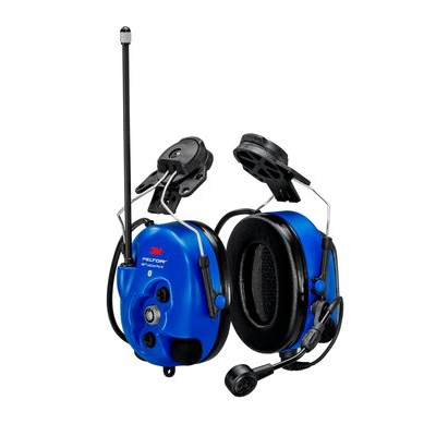 [MT73H7P3E4D10NA-50] 3M Peltor MT73H7P3E4D10NA-50 WS LiteCom Pro III Digital 2-Way Radio IS Headset - Hardhat Clips