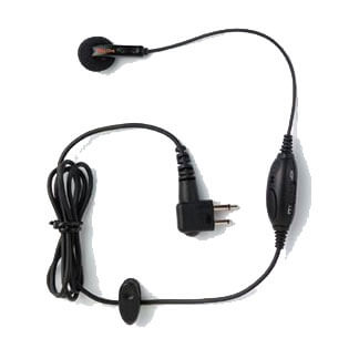 [PMLN4442] Motorola PMLN4442 Earbud with In-Line Microphone, Push-to-Talk