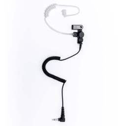 Impact PRSMA-AT1 Receive-only Earpiece, Acoustic Tube for Speaker-Mic