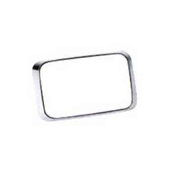 [QL64MC] Federal Signal QL64MC 6x4 Trim Bezel, Chrome with Gasket