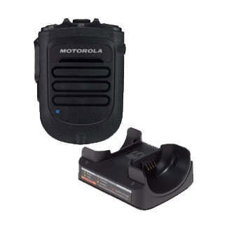 [RLN6554] Motorola RLN6554 Wireless RSM, Battery, Charger, Clip - APX