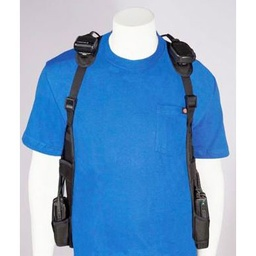 [USH-300D] CMA USH-300D Universal Double 2-Way Radio Shoulder Holster