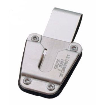[ZZ3100] AWE ZZ3100 AWedge Steel Swivel Belt Clip
