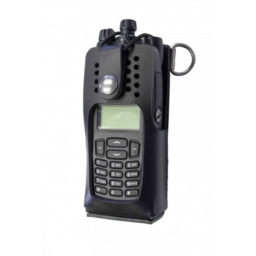 [5735RC-1] Boston Leather 5735RC-1 Radio Holder - Tait TP9400 Full Keypad