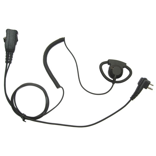 [EAK-1WDR-MT1] Endura EAK-1WDR-MT1 1-Wire D-Ring Audio Kit - Maxon, Relm, Motorola 2-Pin