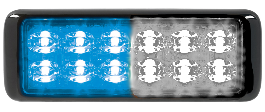 [MPS1200U-BW] Federal Signal MPS1200U-BW 12LED MicroPulse Ultra Blue/White