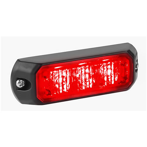 [MPS302U-R] Federal Signal MPS302U-R MicroPulse Ultra - Red LED, Red Lens
