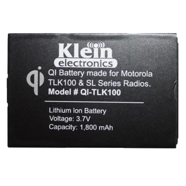 [Qi-TLK100] Klein Qi-TLK100 Qi Wireless Charging Battery - TLK 100, SL 3500e