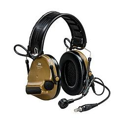 [MT20H682FB-47N CY] 3M Peltor MT20H682FB-47N CY ComTac VI NIB Headset - Brown Single Comm