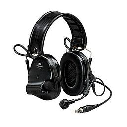 [MT20H682FB-47N SV] 3M Peltor MT20H682FB-47N SV SWAT-Tac VI NIB Headset - Black Single Comm