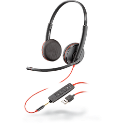 Poly Plantronics Blackwire 3200 Series Corded UC Headset