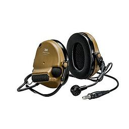 [MT20H682BB-47N CY] 3M Peltor MT20H682BB-47N CY ComTac VI NIB Neckband Headset - Brown Single Comm