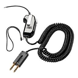 [60825-310] Poly Plantronics 60825-310 SHS 1890 Corded PTT Adapter - 10 ft