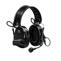 [MT20H682FB-09N SV] 3M Peltor MT20H682FB-09N SV SWAT-Tac VI NIB Headband + ARC Headset - Black